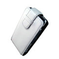 IMAK Flip leather Cases Holster Covers for Sony Ericsson Xperia X1 - White