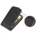 IMAK Simple leather Cases Holster Covers for HTC Desire S G12 S510e - Black