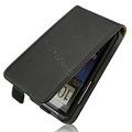 IMAK leather Cases Simple Holster Covers for HTC Desire HD A9191 A9192 G10 - Black