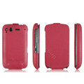 IMAK leather Cases Simple Holster Covers for HTC Desire S G12 S510e - Red