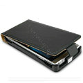 IMAK leather Cases Simple Holster Covers for Sony Ericsson Xperia Arc LT15i X12 LT18i - Black