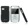 Nillkin Super Matte Hard Cases Skin Covers for Nokia E6 - Black (High transparent screen protector)