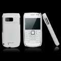 Nillkin Super Matte Hard Cases Skin Covers for Nokia E6 - White (High transparent screen protector)