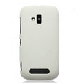 Nillkin Super Matte Hard Cases Skin Covers for Nokia Lumia 610 - White (High transparent screen protector)
