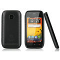 Nillkin Super Matte Rainbow Cases Skin Covers for Nokia 603 - Black (High transparent screen protector)