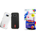 Nillkin Transparent Matte Soft Cases Covers for Nokia 5530 - White (High transparent screen protector)
