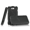 IMAK The Count leather Cases Luxury Holster Covers for MI M1 MIUI MiOne - Black (High transparent screen protector)