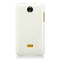 Nillkin Colorful Hard Cases Skin Covers for K-touch W619 - White (High transparent screen protector)
