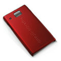Nillkin Super Matte Hard Cases Skin Covers for Huawei U9000 Ideos X6 - Red (High transparent screen protector)