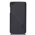 Nillkin Super Matte Hard Cases Skin Covers for K-touch V8 - Black (High transparent screen protector)