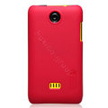 Nillkin Super Matte Hard Cases Skin Covers for K-touch W619 - Rose (High transparent screen protector)