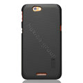 Nillkin Super Matte Hard Cases Skin Covers for Lenovo LePad S2005 - Black (High transparent screen protector)