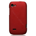 Nillkin Super Matte Hard Cases Skin Covers for Lenovo S760 - Red (High transparent screen protector)