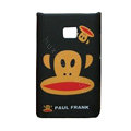 Cartoon Paul Frank Matte Cases Hard Covers for LG Optimus L3 E400 - Black