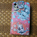 Ed Hardy Skull Devil Flip leather Cases Holster Covers for iPhone 3G/3GS - Pink