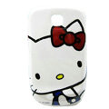 Hello kitty Matte Hard Cases Covers for Samsung GALAXY Mini S5570 I559 - White
