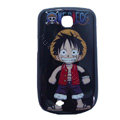 Luffy Matte Hard Cases Covers for Samsung GALAXY Mini S5570 I559 - Black