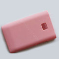 Matte Cases Hard Back Covers for LG Optimus L3 E400 - Pink