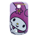 Melody Matte Hard Cases Covers for Samsung GALAXY Mini S5570 I559 - Purple