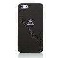 ROCK Naked Shell Cases Hard Back Covers for iPhone 5 - Black