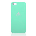 ROCK Naked Shell Cases Hard Back Covers for iPhone 5 - Green