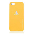 ROCK Naked Shell Cases Hard Back Covers for iPhone 5 - Orange