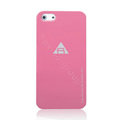 ROCK Naked Shell Cases Hard Back Covers for iPhone 5 - Rose