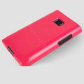 TPU Soft Silicone Cases Skin Covers for LG E400 Optimus L3 - Rose