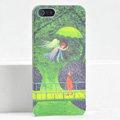 Ultrathin Matte Cases Lovers Hard Back Covers Skin for iPhone 5 - Green