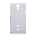 Nillkin Colorful Hard Cases Skin Covers for Sony Ericsson LT30p Xperia T - White (High transparent screen protector)