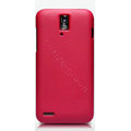 Nillkin Super Matte Hard Cases Skin Covers for Huawei U9510 Ascend D1 - Rose (High transparent screen protector)