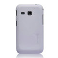 Nillkin Super Matte Hard Cases Skin Covers for Samsung I659 GALAXY Ace Plus - White (High transparent screen protector)