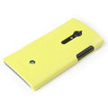 ROCK Jewel Hard Cases Skin Covers for Sony Ericsson LT28i Xperia ion - Yellow (High transparent screen protector)