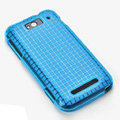 ROCK Magic cube TPU soft Cases Covers for MI M1 MIUI MiOne - Blue (High transparent screen protector)
