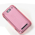 ROCK Magic cube TPU soft Cases Covers for MI M1 MIUI MiOne - Pink (High transparent screen protector)
