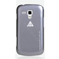 ROCK Naked Shell Cases Hard Back Covers for Samsung S7562 Galaxy S Duos - Gray