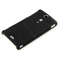ROCK Naked Shell Hard Cases Covers for Sony Ericsson LT29i Xperia Hayabusa Xperia GX/TX - Black (High transparent screen protector)