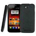 IMAK Cowboy Shell Quicksand Hard Cases Covers for MI M1 MIUI MiOne - Black (High transparent screen protector)