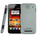 IMAK Cowboy Shell Quicksand Hard Cases Covers for MI M1 MIUI MiOne - Gray (High transparent screen protector)