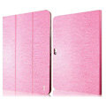 IMAK Slim leather Cases Luxury Holster Covers for Samsung N8000 GALAXY Note 10.1 - Pink