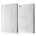 IMAK Slim leather Cases Luxury Holster Covers for iPad 2 - White