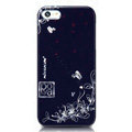Nillkin Platinum Elegant Hard Cases Skin Covers for iPhone 5 - Douban Flower Blue