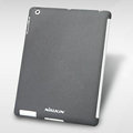 Nillkin Snow Gravel Matte Hard Cases Skin Covers for The new iPad - Gray (High transparent screen protector)