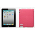 Nillkin Spherical Lines leather Cases Holster Covers for The new ipad - Pink (High transparent screen protector)