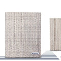 Nillkin Ultra-thin Weave leather Cases Holster Covers for iPad 2 - Khaki (High transparent screen protector)