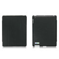 Nillkin leather Cases Holster Covers for iPad 2 - Black (High transparent screen protector)