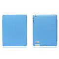 Nillkin leather Cases Holster Covers for iPad 2 - Blue (High transparent screen protector)