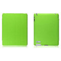 Nillkin leather Cases Holster Covers for iPad 2 - Green (High transparent screen protector)