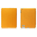 Nillkin leather Cases Holster Covers for iPad 2 - Orange (High transparent screen protector)