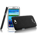 IMAK Cowboy Shell Quicksand Hard Cases Covers for Samsung N7100 GALAXY Note2 - Black (High transparent screen protector)